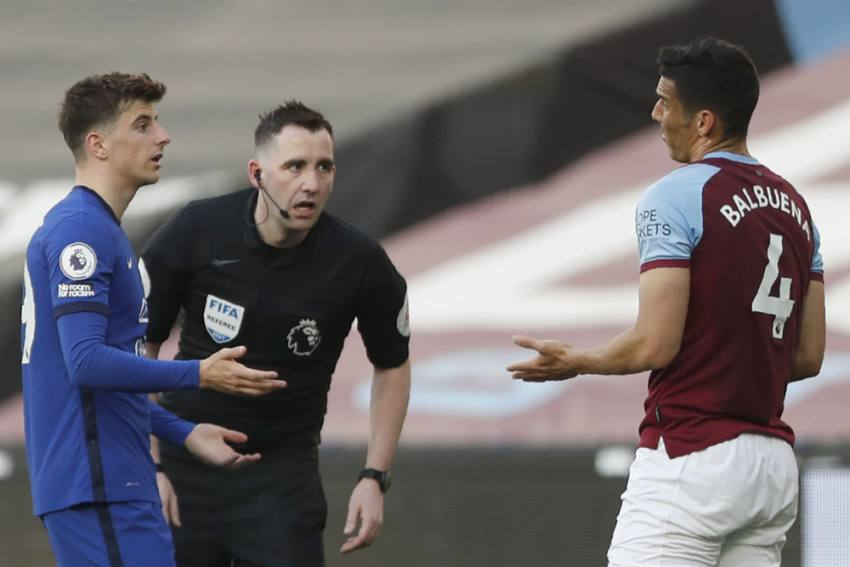 Fabian Balbuena Controversial Red Card Rescinded, FA Confirm