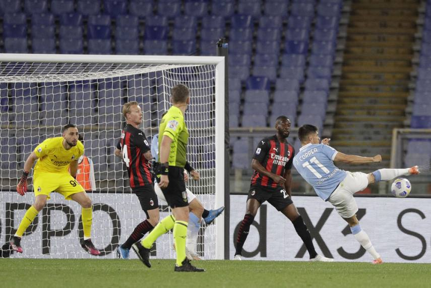 Lazio 3-0 Milan: Joaquin Correa At The Double As Rossoneri Top-four Hopes  Suffer Another Blow