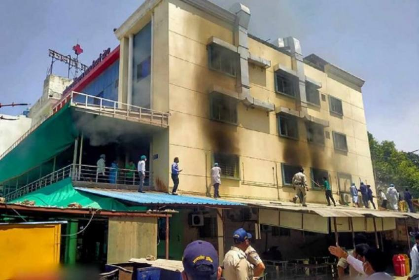 Maharashtra: 4 Patients Killed In Massive Fire At Private Hospital In Thane, 20 Evacuated