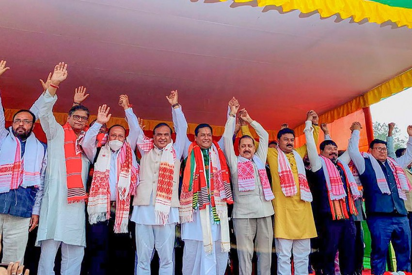 Exit Polls Predict Return Of BJP In Assam But With Reduced Numbers