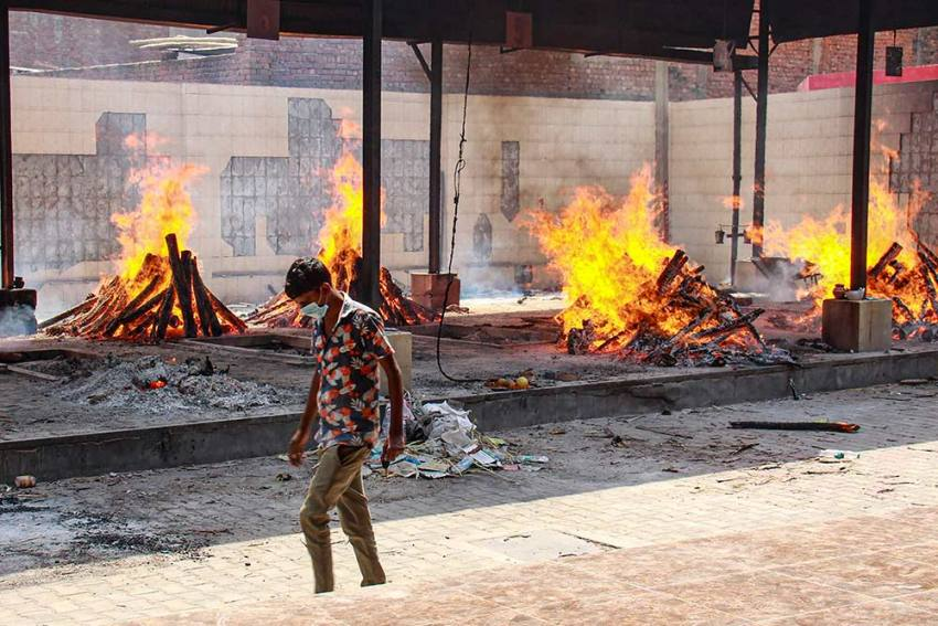 Will The Raging Fire From The Pyres Singe The BJP?