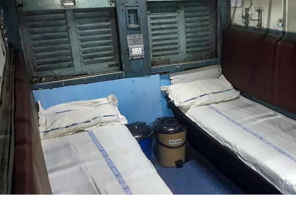 2,990 Beds, 64 Patients... Indian Railways Deploy Covid Care Coaches