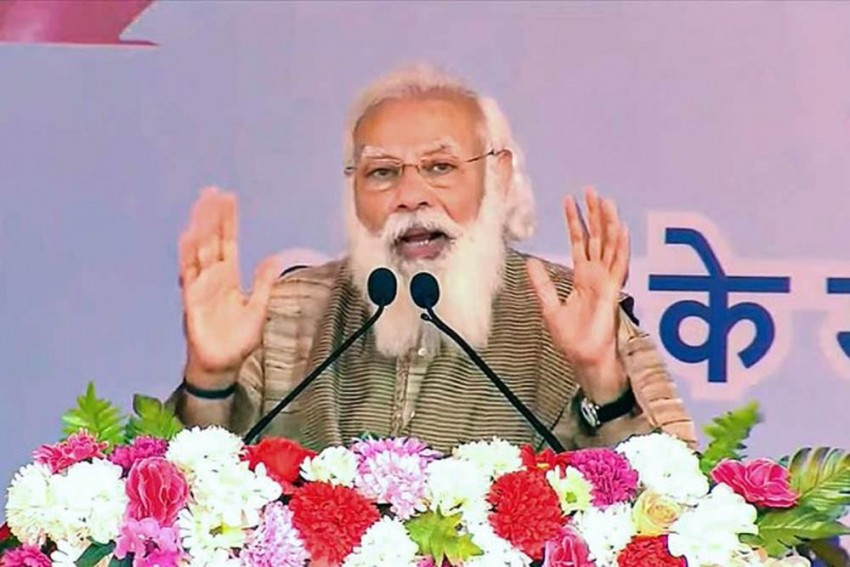 Kerala Polls: Congress A 'Shameless' Party, LDF-UDF 'Twins' Of Misgovernance, Says PM Modi