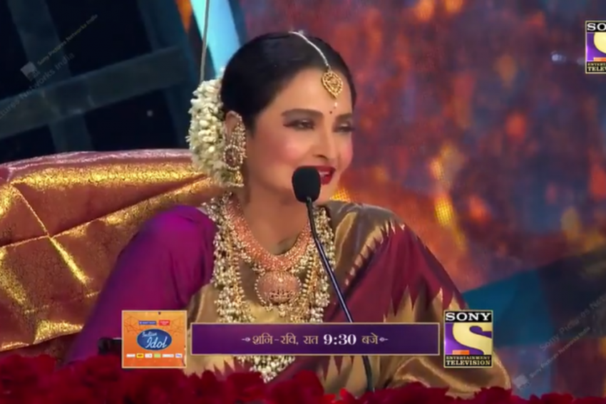 Watch: Rekha's Response On Being Asked About Falling For A Married Man