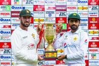 ZIM Vs PAK, 1st Test, Day 2:  Pakistan In Control, Lead  Zimbabwe By 198 - Highlights