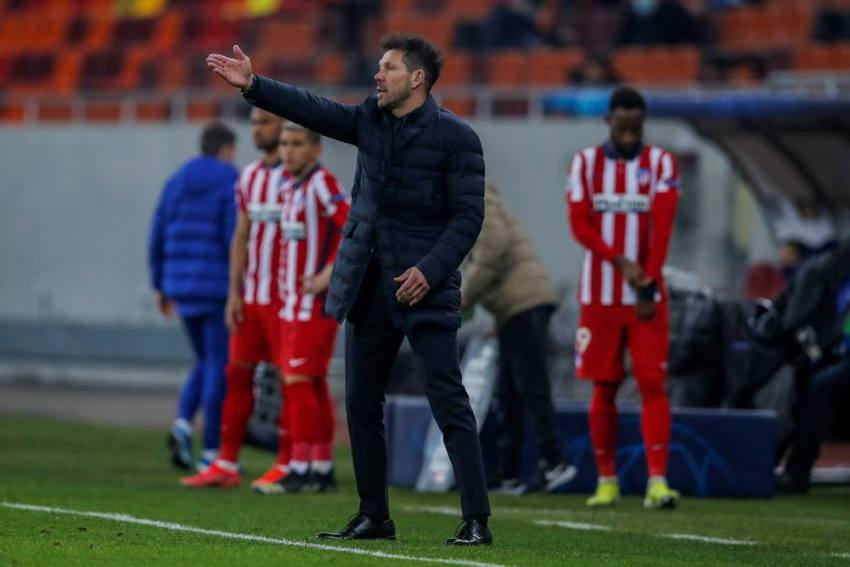 Atletico Madrid Coach Diego Simeone: Four-team La Liga Title Race Good For Spanish Football