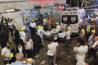 Dozens Injured In Stampede At Big Israeli Religious Festival