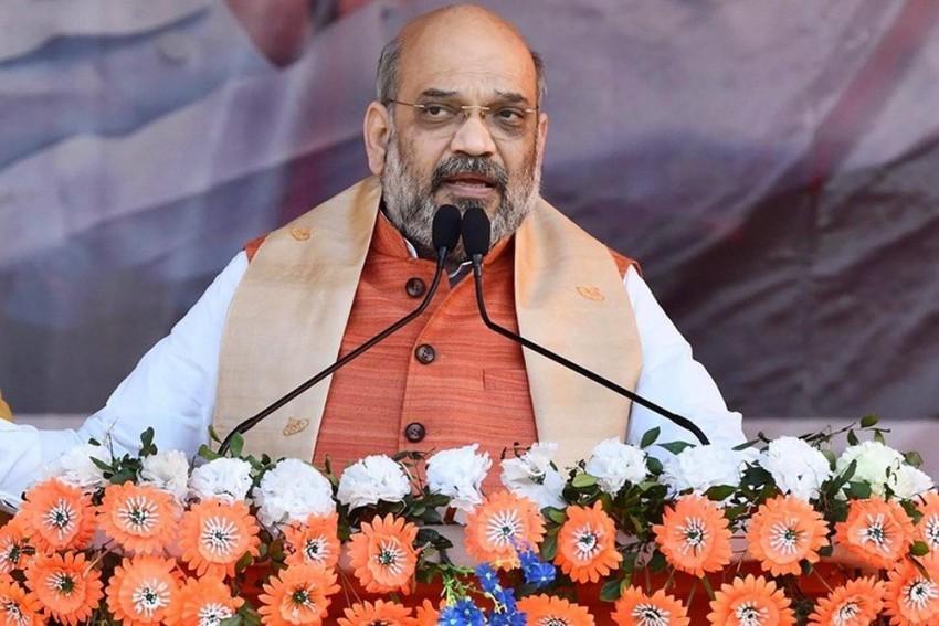 'Govt Will Continue To Fight Enemies Of Peace': Amit Shah Condemns Chhattisgarh Naxal Encounter