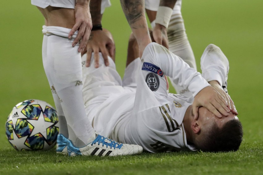 Champions League: Real Madrid Confirm Eden Hazard Absence For Liverpool First Leg