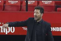 Diego Simeone Not Nervous But Questions Atletico Madrid's Intensity As La Liga Leaders Slip Up