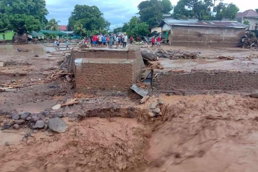 Torrential Rains, Landslides Kill 55 In Indonesia, Dozens Missing