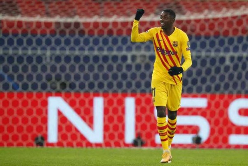 Barca Hero Ousmane Dembele Reaping The Benefits Of Hard Toil, Says Lenglet