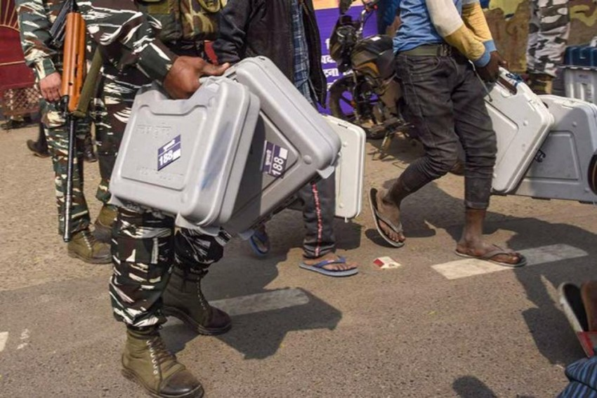 EVMs, VVPATs Found At TMC Leader's Residence, Polling Officer Suspended