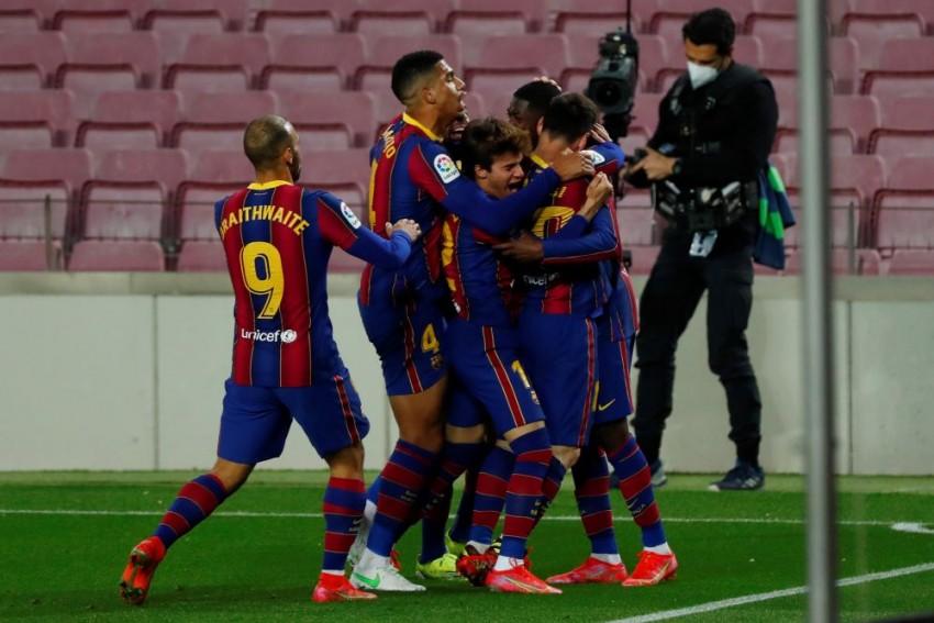 Barcelona 1-0 Real Valladolid: Last-gasp Ousmane Dembele Leaves Barca Breathing Down Atleti's Necks