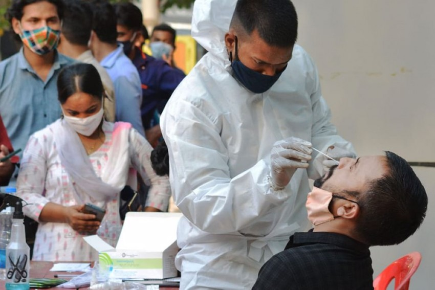 Covid-19: India Logs 96,982 New Cases, 446 Fatalities In 24 Hours