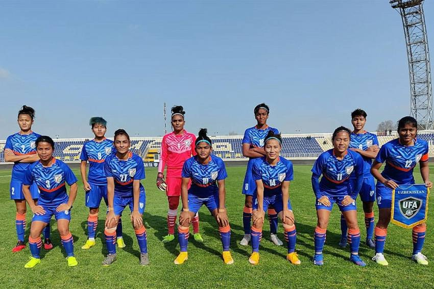 Indian Women Get Ready For Football Friendly Against Belarus