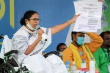 EC Issues Notice To TMC Chief Mamata Banerjee For Violating Poll Code