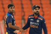 Bhuvneshwar Kumar Nominated For ICC Monthly Award After Exploits Against England