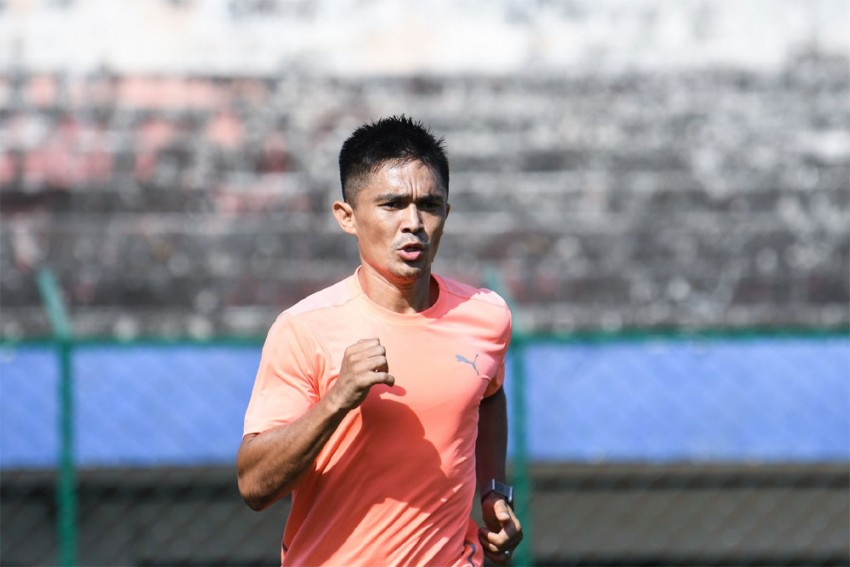 After Recovering From COVID-19, Sunil Chhetri To Lead Bengaluru FC In AFC Cup