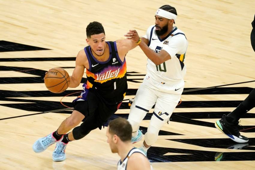 Devin Booker's Suns Sizzle In OT Win Over NBA-leading Jazz, Kevin Durant Sparkles On return
