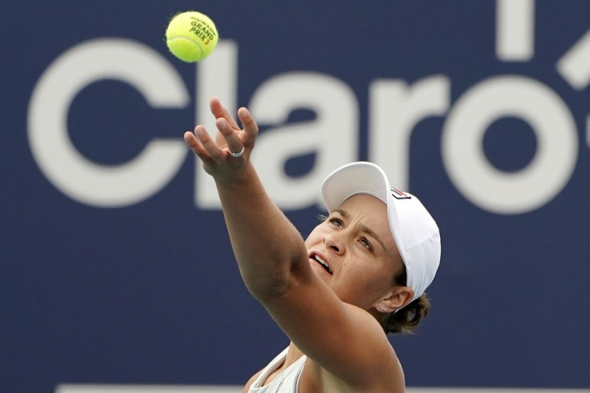 Petra Kvitova, Garbine Muguruza Exit Volvo Car Open, Ash Barty Wins Hard-fought Match Over Shelby Rogers