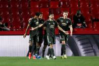 Granada 0-2 Manchester United: Marcus Rashford And Bruno Fernandes Give Red Devils Edge In Europa League Tie