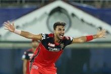 MI Vs RCB: Harshal Patel Rocks Mumbai Indians With Sensational Five-wicket