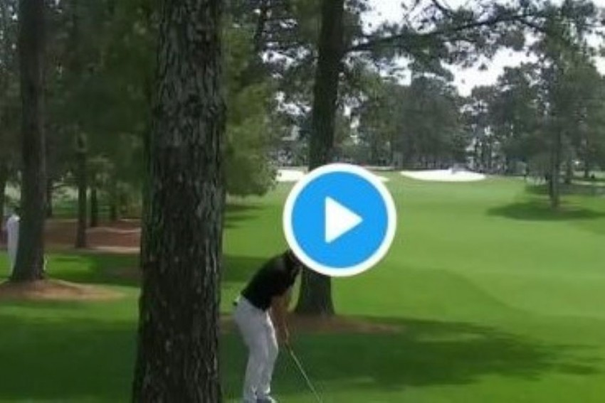 Watch Rory McIlroy Hit His Dad With An Errant Shot At Augusta Masters