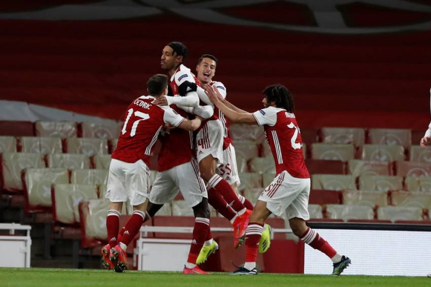 Arsenal 1-1 Slavia Prague: Late Tomas Holes Leveller Leaves Gunners With Work To Do In Europa League