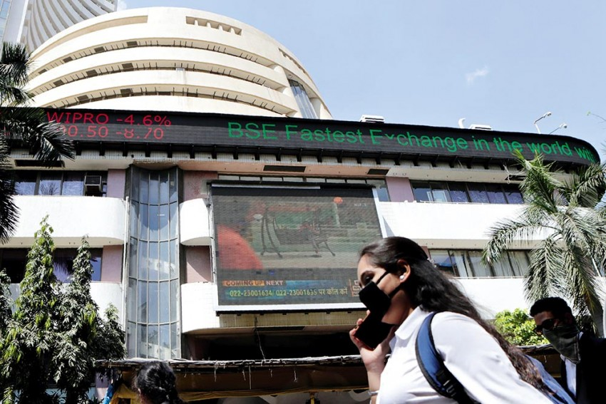 Sensex Falls 155 Points; Nifty Slips Below 14,850