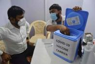 Covid-19: Vaccination For 18-44 Age Group Starts In 7 Districts Of UP