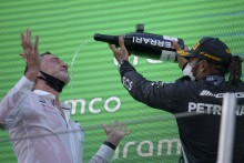 Lewis Hamilton Delighted To Cash In On Mercedes' Spanish Grand Prix 'Gamble'