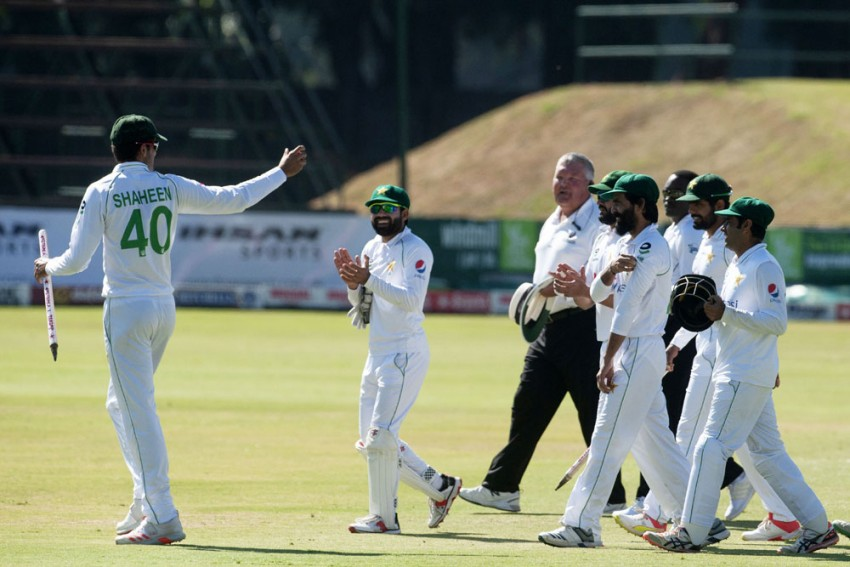 ZIM Vs PAK, 2nd Test: Shaheen Afridi Claims Historic Five-wicket Haul As Pakistan Ease To Series Victory Over Zimbabwe