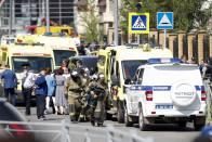 Shootout At Russian School Leaves Seven Students, One Teacher Dead