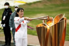 Tokyo Olympic Torch Relay Pulled Off Streets After COVID-19 Surge In Hiroshima