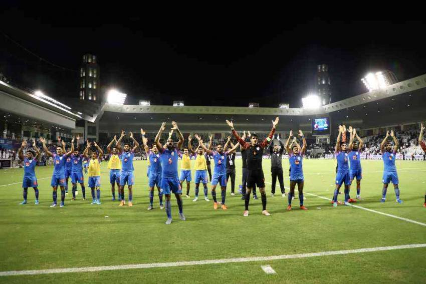 COVID-19 Hits Training, AIFF Awaits Qatar's Nod To Send Team In Advance For World Cup Qualifiers