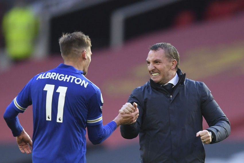 Leicester Beat Man Utd: Brendan Rodgers Hails 'Extremely Important Win' For Champions League Hopefuls Foxes
