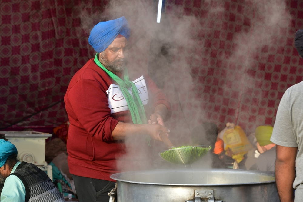 How Langars Feed Farmers At Delhi's Protest Sites