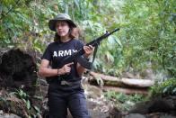 Burmese Beauty Queen Picks Up Guns To Bring Down Myanmar Military Junta