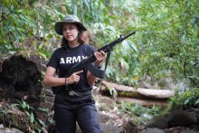 Burmese Beauty Queen Picks Up Guns To Bring Down Myanmar Military Junta