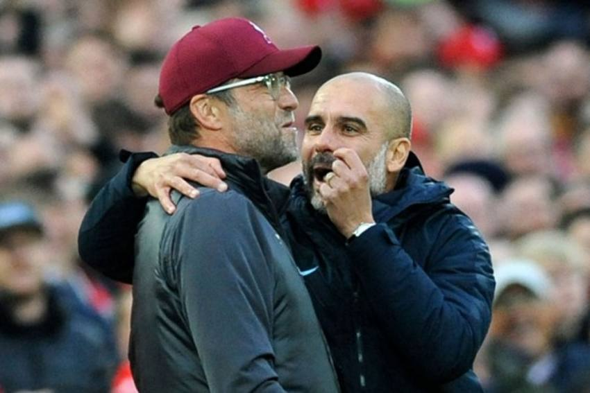 Jurgen Klopp On Manchster City Success: Best In The World Pep Guardiola And Financial Backing Is A Good Recipe!