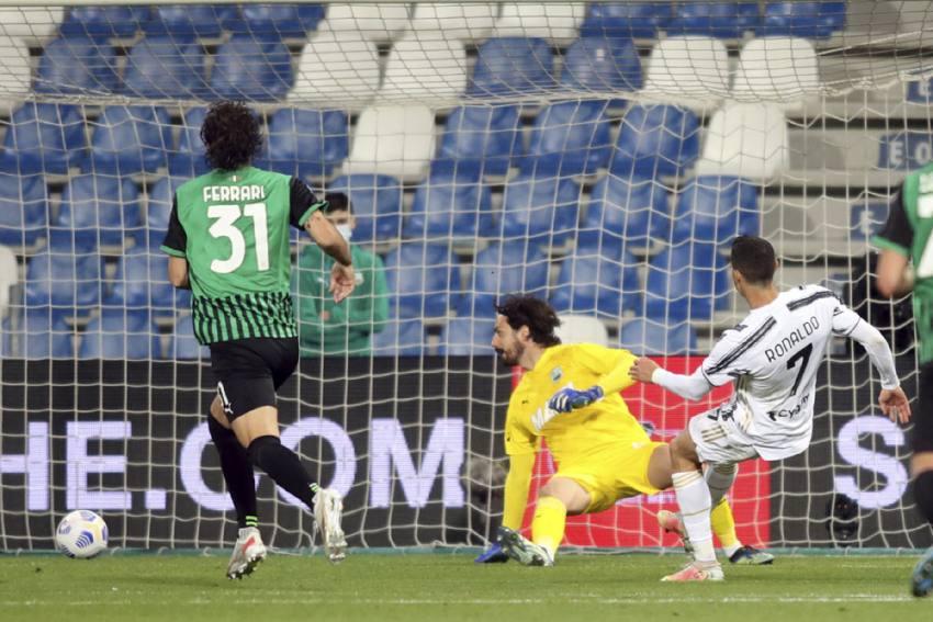 Cristiano Ronaldo, Paulo Dybala Reach Centuries In Crucial Juventus Win Against Sassuolo
