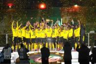Jadon Sancho, Erling Haaland Strike Twice As Borussia Dortmund Beat RB Leipzig To Win DFB-Pokal Final