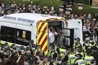 Two Indian Men Freed From Detention Van After Eight-Hour Protest In Scotland