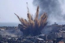 Israel Launches Airstrikes On Gaza Sites Again