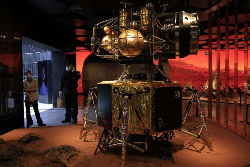 China Lands Spacecraft On Mars For First Time