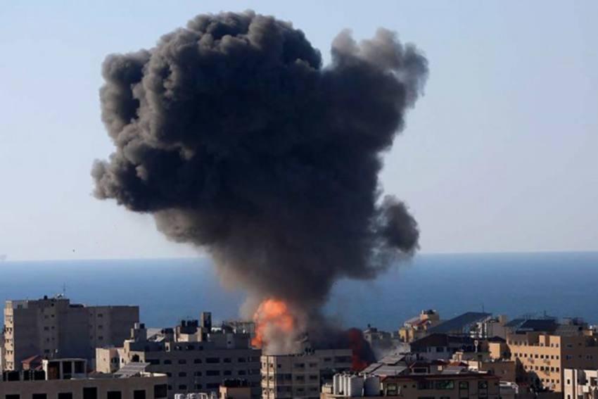 Israeli Airstrike Destroys Al-Jazeera Office In Gaza