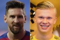 Rumour Has It: Barcelona Prefer Dortmund's Haaland Over Messi, Raul Favourite For Madrid Job