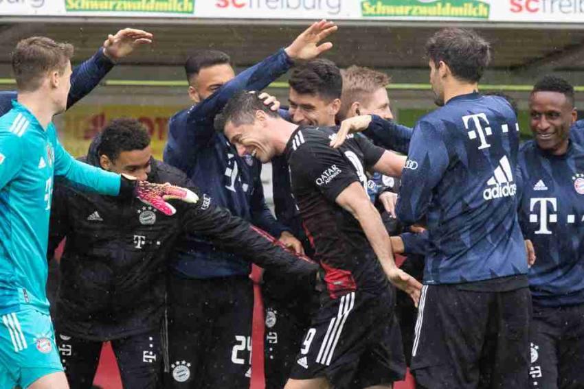 Robert Lewandowski Matches Gerd Muller's Record As Bayern Munich Are Held By Freiburg