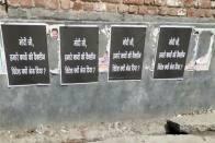 Delhi: AAP Admits To Pasting Posters Critical Of PM Narendra Modi